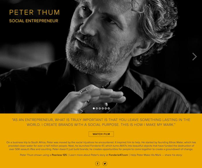 storytelling Liberty United Peter Thum